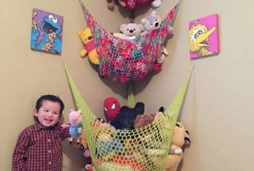 أفكار مبتكرة لجمع ألعاب أطفالك