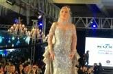 صور.. فستان نيكول سابا بـ 180 مليون جنيه .. مرصع بقطع الألماظ الحر