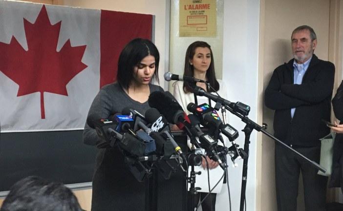 وصلة ردح نسائي بين الفتاة السعودية الهاربة إلى كندا ومسؤولة حكومية
